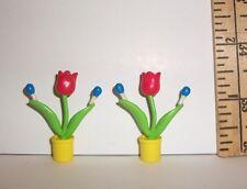 FASHION DOLL 1/6 GARDEN FLOWERS FLOWER SET MINIATURE RE-MENT  ACCESSORY