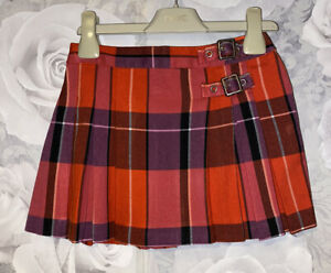 Girls Age 4 (3-4 Years) Next Tartan Skirt