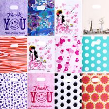 100PCS 25*20cm Wholesale Jewelry Gift Plastic Bag Pouches Mixed Classic Pattern
