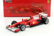 Felipe Massa ferrari f10 Formule 1 2010 1:18 HotWheels