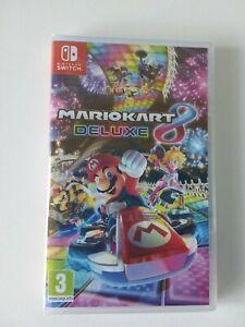 🎮JEU SWITCH Mario Kart 8 Deluxe NEUF SOUS BLISTER🎮