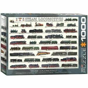 Eurographics Steam Locomotives Jigsaw Puzzle 1000 Pieces world trains EG60000090