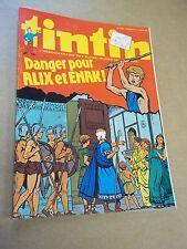 """MAGAZINE """"TINTIN, no 189"""" (1979) TINTIN STORY - LES ORANGES BLEUES...."""