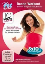 FIT FOR FUN-10 MINUTE SOLUTION - DANCE WORKOUT-BAUCH,BEINE,PO  DVD  SPORT  NEU
