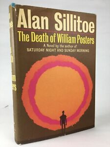 The Death of William Posters - Alan Sillitoe - First American Edition HC 1965 VG