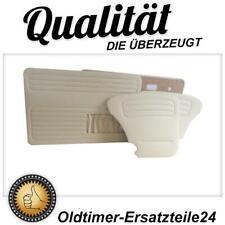 Türverkleidung Türpappen Set Cream für VW Käfer 1300 und 1303