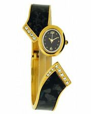 Gold Plated Case Wristwatches with 12-Hour Dial