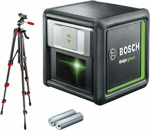 Bosch Home And Garden 0603663C01 Laser Lines Crossed Quigo With Tripod 12 M
