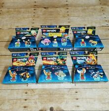 LOT of 6 LEGO Dimensions Fun Pack The Simpsons & Chima SET BART HOMER KRUSTY New