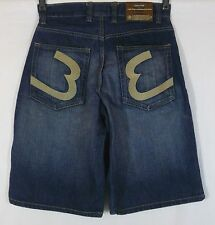 Men's Evolution Jean Shorts w/ Embroidered pockets Size 30 EUC! Intl Welcome!