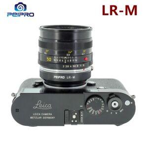 PEIPRO LR-M Lens Adapter Converter for Leica R Lens to LEICA M Cameras
