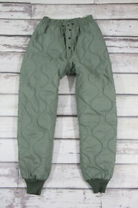 US Air Force USAF liner Flyers CWU-9/P trousers Quilted Liner Pants M