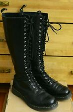 Dr Martens 1B60 Women's Black High 20 eye Shoes, Size UK 7, EU 41