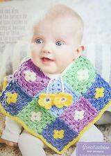 Baby's Poncho Crochet Pattern
