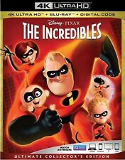 The Incredibles 2004 (4K/Uhd 2018) + Additional Movies Ship Free