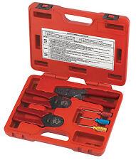 6pc Deutsch Wire Terminal CRIMPER & RELEASE Tool Kit Dutch Open & Closed Barrel