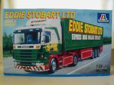 ITALERI - EDDIE STOBART LTD - SCANIA 144L TRUCK & TRAILER - MODEL KIT (COMPLETE)