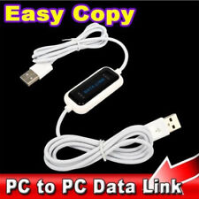 480Mb/s USB 2.0 Laptop PC To PC Online Data Link File Transfer Cable Bridge BE