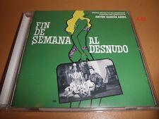 FIN de SEMANA AL DESNUDO soundtrack CD score ANTON GARCIA ABRIL (500 made)