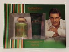 New Antonio Banderas Mediterraneo gift set of 2 men