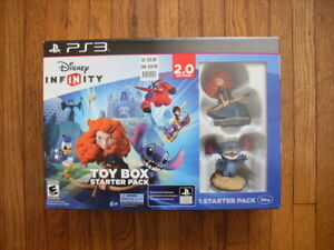 Disney Infinity Toy Box 2.0 Starter Pack PS3 Merida Brave Lilo & Stitch SEALED