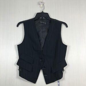 Marc Aurel Cocktail Vest Women's XS Formal Wedding One Button Closure Adjustable