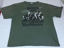 2010 Green Day 21st Century Breakdown Graphic Concert Tour tshirt men's XL