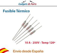 Fusible Termico Temperatura 120ºC 250V 10A Thermal Fuse - Nuevo !!!