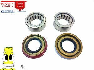 Premium Rear Wheel Bearing Seal Kit For Chevy Silverado 1500 1999-2013 Set of 2