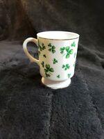 Vintage Lefton China Irish Coffee Tea Cup Mug St Patricks Clover Shamrock 8 Oz