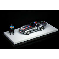 JEC 1:64 Scale Ferrari 250GTO #25 Silver Racing Car Model Limited Edition 299pcs