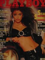Playboy November 1986 | Devin De Vasquez Donna Edmonson Sex in Cinema #7902