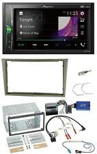 Pioneer 2DIN Lenkrad DAB USB Bluetooth Autoradio für Opel Corsa D Astra H Zafira