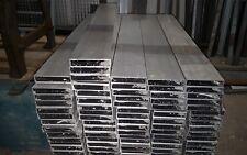 Aluminium Rechteck Profil Reststück 100mmx20mmx2mm Naturbelassen Pressblank 1 St