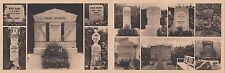 404,BERLINO CARTOLINA d'auguri steinmetzhütte Pietre tombali kiefholzstr.ca 1930