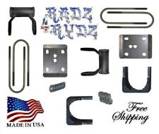 "2004-2014 Ford F150 5"" Drop Axle Flip Axle Relocater Shackles Lowering Kit"