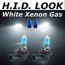 H8 501 35w White Xenon HID Look Fog Light Bulbs E Marked Road Legal