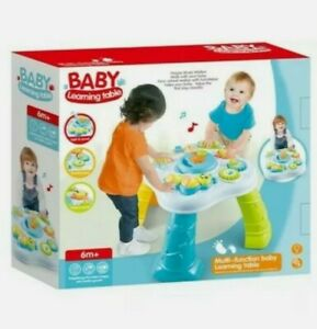 Baby Laugh & Learn multifunctional activity Play table walker,Music,6M-18M/ GIFT