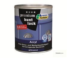 PROFI Acryl Premium Buntlack glänzend 750 ml Cremeweiss RAL 9001 Innen & Außen