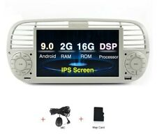 Navigatore Fiat Abarth 500 Android GPS Bluetooth Bianco o Nero 500C