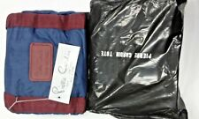 Pierre Cardin Paris NY Blue Maroon Zippered 2 Handbags Tote Purse free shipping