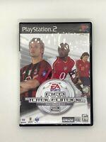 FIFA Total Football 2 PS2 PlayStation Soccer