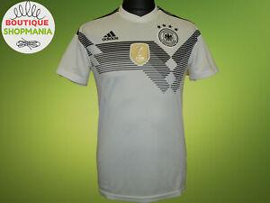 GERMANY National HOME 2018-2019 S ADIDAS FOOTBALL SHIRT Trikot Maillot Camisa