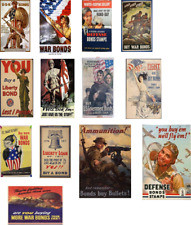 "ho scale beautiful, vintage ""buy war bonds"" decals/series 2"