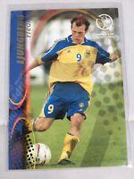 2002 Panini World Cup #105 Freddie Ljungberg - NM-MT