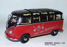 Schuco 450028401 - Vw-Bus T1- 2B Samba Rojo/Negro Nuevo Embalaje Original