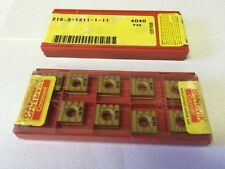 ISCAR GIP 2.87-0.20 IC 20 K10 Carbide Inserts Grooving 10 Pcs New Self Grip