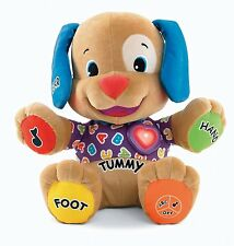 FISCHER PRICE LAUGH AND PLAY PUPPY INTERACTIVE DOG LEARN COUNTING AND BODY