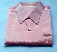 Mens Thai Silk Shirt / S-M-L-XL-XXL-XXXL / 23 Colour /Dress Casual Short Sleeve
