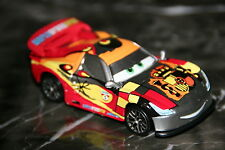 "DISNEY PIXAR CARS 2 ""MIGUEL CAMINO W/ METALLIC FINISH"" KMART SILVER RACER SERIES"
